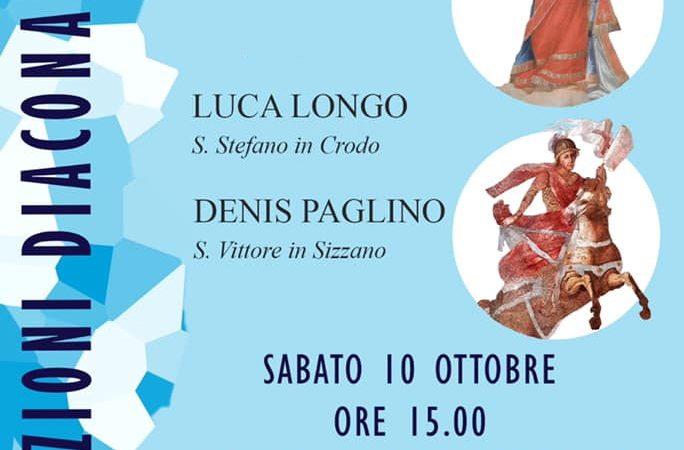Ordinazione diaconale di Luca Longo