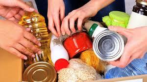 Raccolta generi alimentari terza domenica del mese (gennaio)