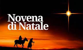 Da marcoledì 16 dicembre – Novena di Natale