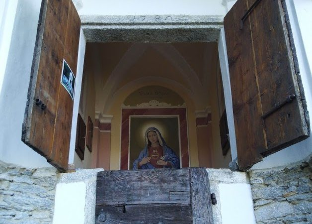 Domenica 29.08.2021- Messa alla Cappelletta di Cheggio